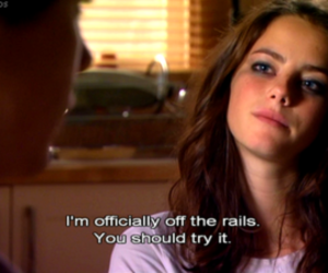 crazy, Effy, and curly hair image