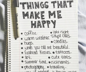 quotes, text, and make me happy image