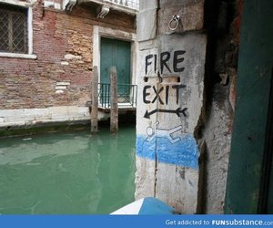 funny, fire, and venice image
