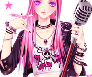 anime, punk, and cool image