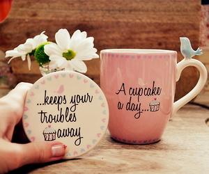 cupcake, mug, and cup image