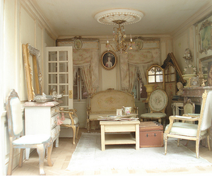 interior, vintage, and room image