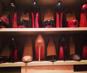 shoes, fashion, and christian louboutin image