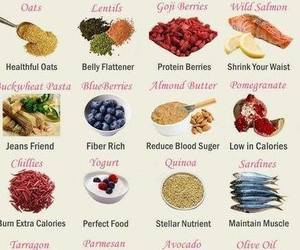 calories, fruit, and vegetables image