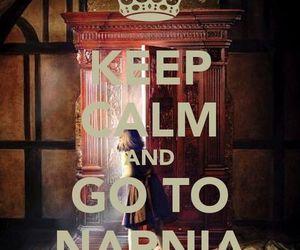 narnia, keep calm, and calm image