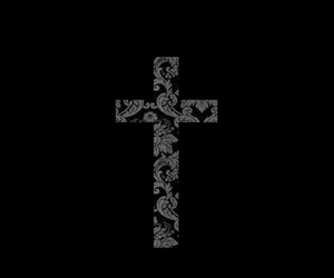 black and cross image