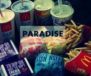 paradise, food, and burger image