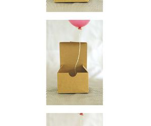 balloon, invitation, and box image