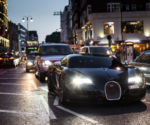 car, luxury, and city image