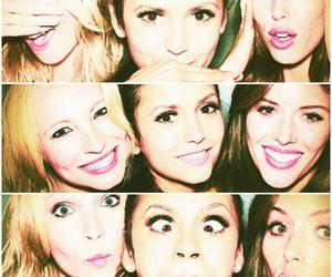 Nina Dobrev, candice accola, and the vampire diaries image