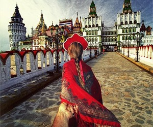 travel, follow me, and russia image
