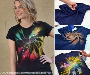 diy, galaxy, and colors image