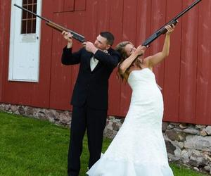 bride, country, and groom image