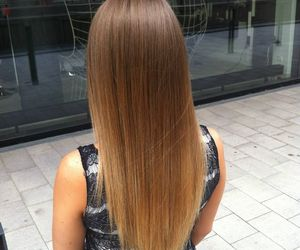 hair, brown, and ombre image
