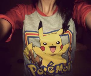 pokemon, pikachu, and shirt image