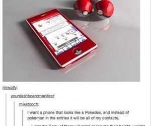 pokemon, phone, and tumblr image