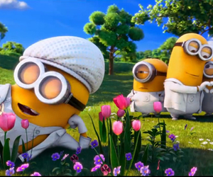 minions, despicable me, and despicable me 2 image