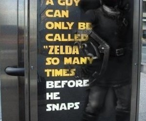 awesome, funny, and zelda image