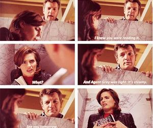 castle, quote, and tv show image