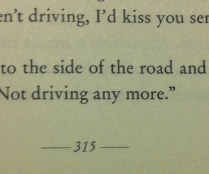 book, kiss, and quote image