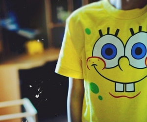 bob esponja, sponge bob, and t-shirt image