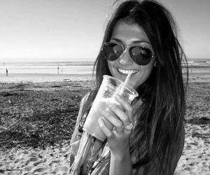 girl, beach, and sara montazami image