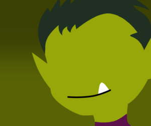 green, teen titans, and beastboy image