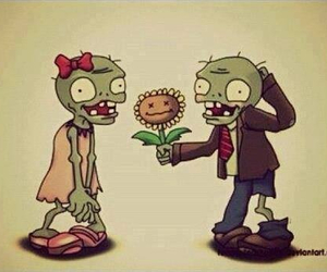 love and zombie image