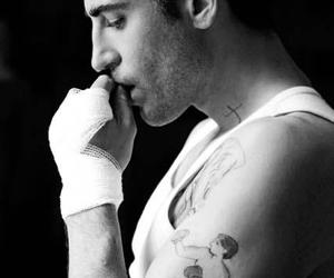 black and white, Hot, and miguel angel silvestre image