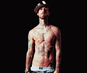 travis barker and tattoo image