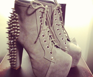 jeffrey campbell, spiked, and shoes image