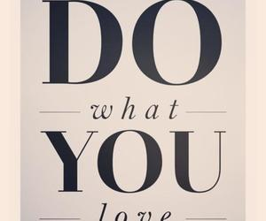 love, quote, and do image