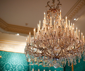 luxury, chandelier, and room image