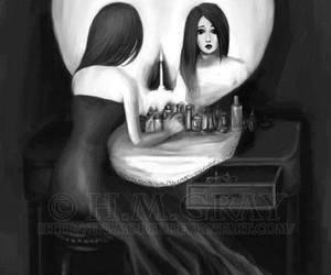 creativity, reflect, and dark image