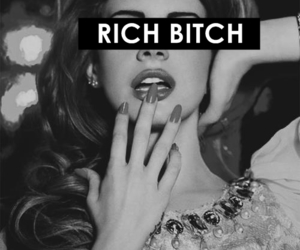 bitch, lana del rey, and rich image