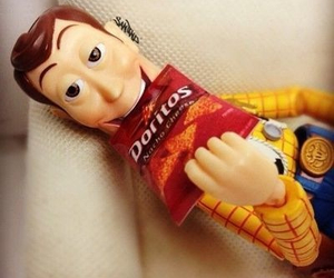woody, toy story, and doritos image