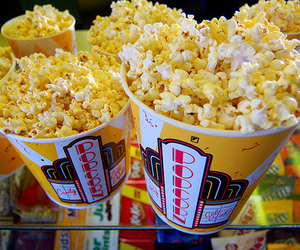 popcorn and food image