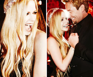 Avril Lavigne, wedding, and chad kroeger image