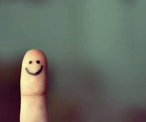 smile, fingers, and happy image