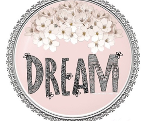 Dream, pink, and flowers image
