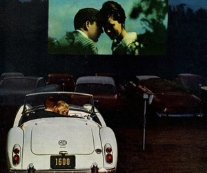 love, car, and movie image