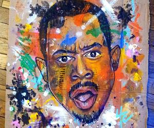 art, painting, and martin lawrence image