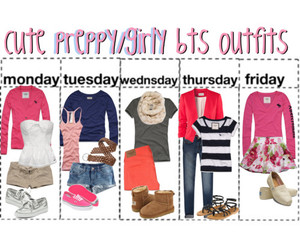 ideas, outfit, and preppy image