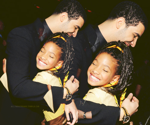 Drake, willow smith, and cute image