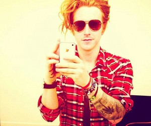 we the kings, travis clark, and tattoo image