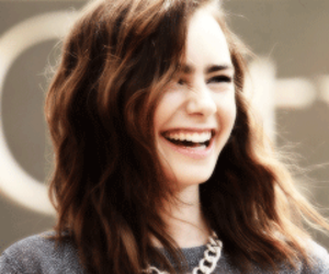 lily collins, beautiful, and hair image