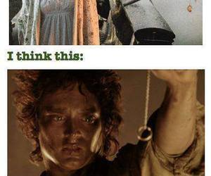 funny, lord of the rings, and LOTR image