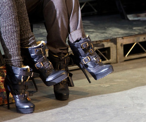 fashion, Burberry, and shoes image