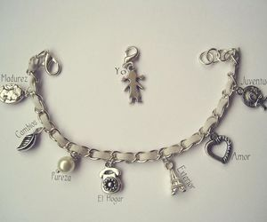 bracelet, pearl, and cameo image