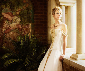 Taylor Swift, love story, and dress image